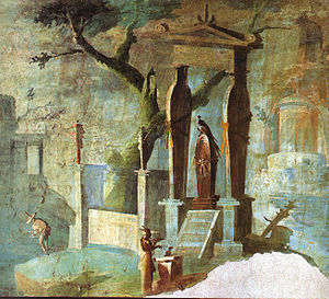Mysteries of Isis - Image: Pompeii Temple of Isis 4 MAN