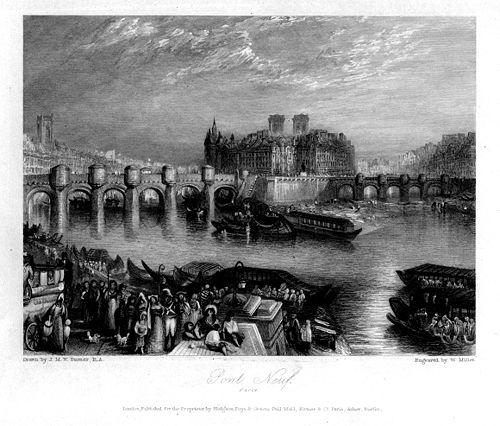 Pont Neuf engraving by William Miller after Turner.jpg