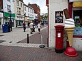 Poole, postbox No. BH15 28, Old Orchard - geograph.org.uk - 1406642.jpg