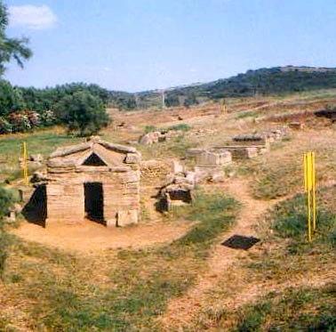 Populonia - Necropoli etrusca