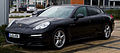 Porsche Panamera Diesel (970, Facelift) – Frontansicht, 3. März 2014, Düsseldorf.jpg