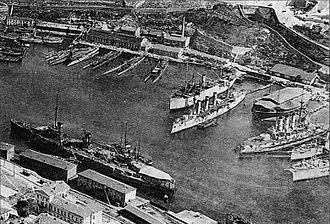 Sevastopol Naval Base - Image: Port Sevastopol 1918