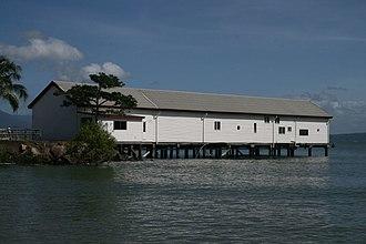 Port Douglas Wharf - Port Douglas Wharf and Storage Shed, 2009