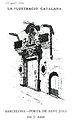 Porta de la casa de Sant Joan de Barcelona.jpg