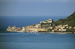 Panoramic view from Lerici