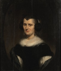 Bust-Length Portrait of a Middle-Aged Woman