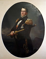 Portrait of admiral