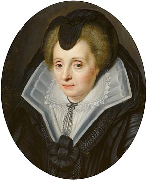 Portrait of Louise de Coligny Mauritshuis 97
