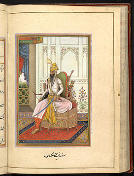 Portrait of Ranjit Singh, Maharaja of the Punjab, 1830.jpg