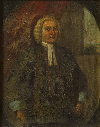 Julije Balović - Portrait of captain Julije Balović  (end of the 17th century)