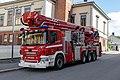 Porvoo fire engines, Skylift Scania P400 (1).jpg