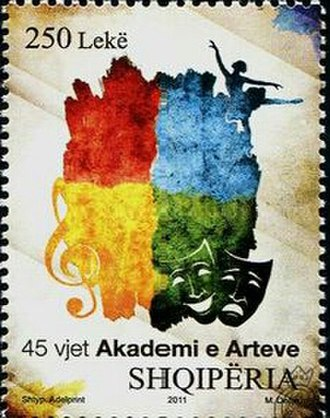 University of Arts (Albania) - 45th anniversary of the Academy of Arts