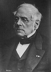 Daniel François Esprit Auber (1869) (Source: Wikimedia)