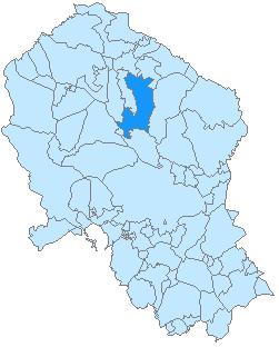 Pozoblanco-mapa