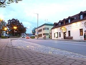 Průhonice - Centre of the village