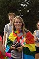Praha, Letná, účastnice Prague Pride.jpg