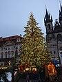 Praha, Staré Město, Staroměstské náměstí, vánoční strom II.JPG