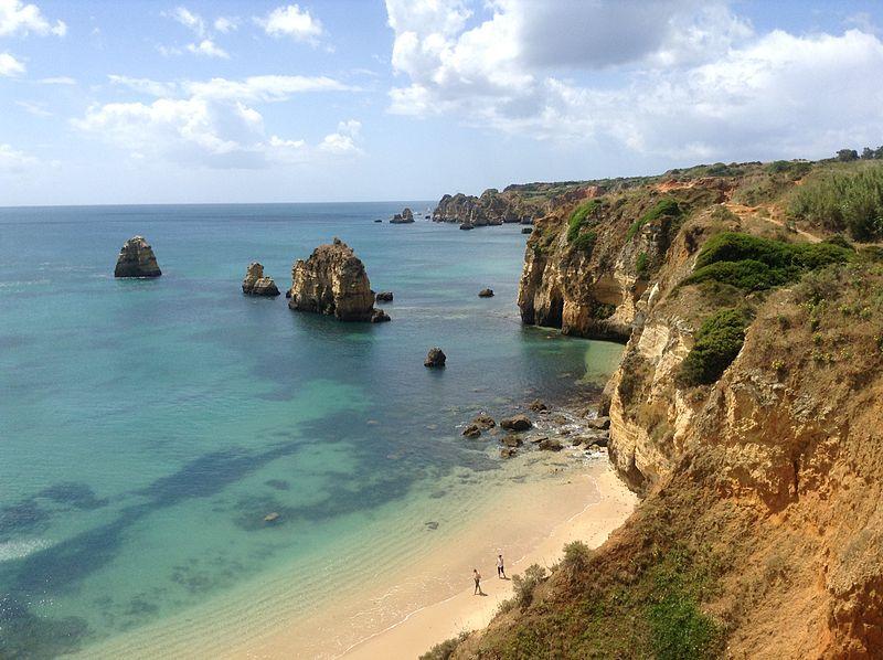 Praia do Pinhão no Algarve