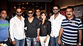 Prashant Shirsat, Rohit Shetty, Ajay Devgn, Prachi Desai, Abhishek Bachchan, Ashoo Sethi Cast of 'Bol Bachchan' meet fans at Fame Inorbit Mall 01.jpg