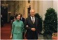 President Gerald Ford escorts Rosalynn Carter at the Panama Canal Treaty State Dinner. - NARA - 176106.tif