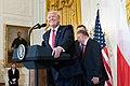 President Trump's Remarks at a Polish-American Reception (48052721133).jpg