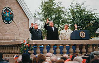 National Czech & Slovak Museum & Library - Image: Presidential Visit at NCSML