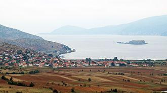 Pustec - Pustec and the island of Maligrad