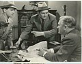 """Press photo of Frankie Darrow, James Dunn, and Joseph Crehan in """"The Payoff"""" - front.jpg"""