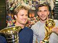 Pressetermin Lukas Podolski und Nico Rosberg, Airport Köln-Bonn-6955.jpg