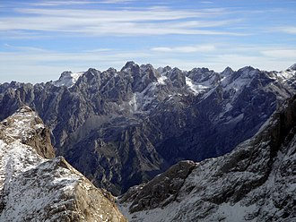 Cantabrian Mountains - Torre de Cerredo (2,650 m.), the highest summit of the Cantabrian Mountains