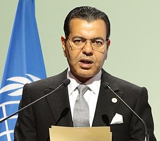 Prince Moulay Rachid of Morocco - Image: Prince Moulay Rachid of Morocco (cropped)