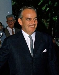 Rainier III, Prince of Monaco 20th and 21st-century Prince of Monaco