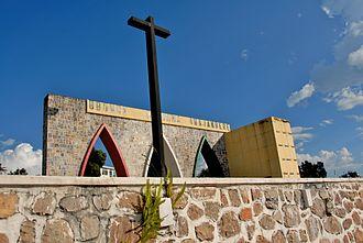 Louis Rwagasore - Contemporary photograph of Rwagasore's mausoleum in Bujumbura