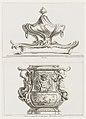Print, Seau à rafraichir executé pour M. le Duc en 1723 (Wine Cooler made for M. le Duc (Louis-Henri de Bourbon in 1723), pl - 58 in Oeuvre de Juste-Aurele Meissonnier, 1748 (CH 18707139).jpg