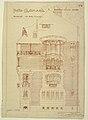 Print, Side Elevation (Facade) of the Hotel Guimard (Villa Flore, 122 Rue Mozart, Paris (Home of Hector Guimard), ca. 1909 (CH 18385063-2).jpg