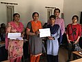 Prize and Certificate distribution ceremony at Wiki Awareness Campaign Karnal 06.jpg