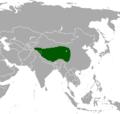 Procapra picticaudata map.png