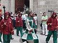 Processó de Sant Bartomeu - 03 Ball de Sant Miquel i els Diables.JPG