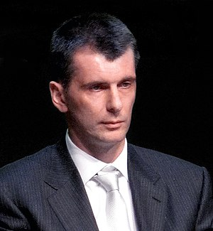 Russian presidential election, 2012 - Mikhail Prokhorov