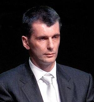 Russian billionnaire Mikhail Prokhorov