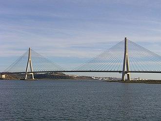 Portugal–Spain border - Image: Puente Internacional 416