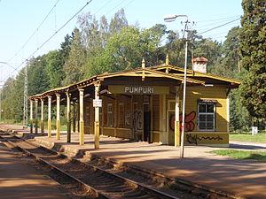 Pumpuri - Image: Pumpuru stacija 1