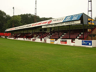 Welling - Park View Road ground, home of Welling United Football Club
