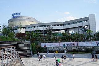 Sindorim station train station in South Korea