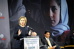 Quadrennial Diplomacy and Development Review - Secretary of State Hillary Clinton and USAID Administrator Rajiv Shah present the first QDDR, December 2010