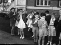 Queensland State Archives 2565 Free school milk distribution at Newmarket State School Brisbane City July 1958.png