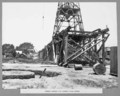 Queensland State Archives 3139 Timber gantry for hammer head crane 17 January 1936.png
