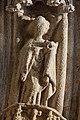 Quimper - Cathédrale Saint-Corentin - Statue des Voussures du portail - PA00090326 - 0009.jpg