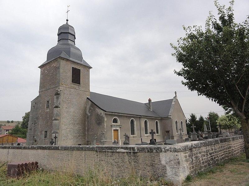 Récicourt (Meuse) église