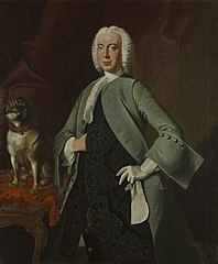 Portrait of (probably) mr. Cornelis van Rijckevorsel (1705-1777)